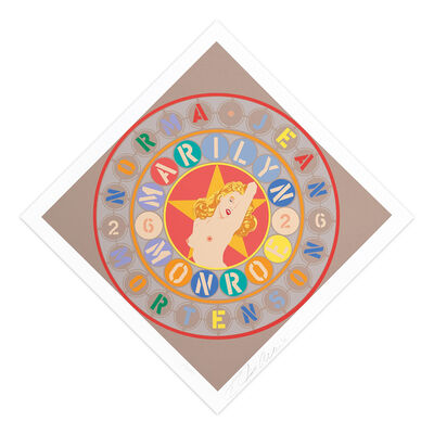 Robert Indiana, 'The Metamorphosis of Norma Jean Mortenson', 1997