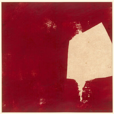 Chu Weibor, 'Red & White', 1970