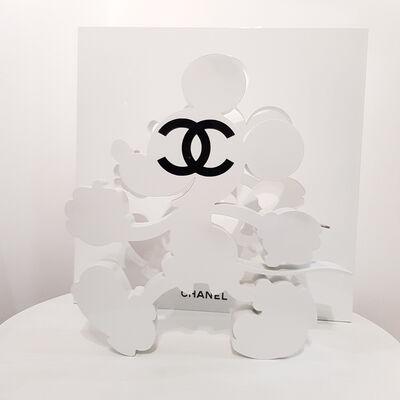 Auguste, 'Sculpture Mickey White Addict CC', 2018
