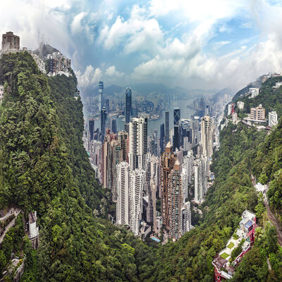 Murat Germen, 'Muta-morphosis Hong Kong #1', 2014