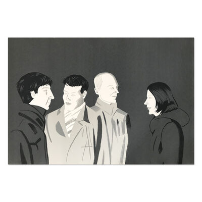 Alex Katz, 'Unfamiliar Image', 2001