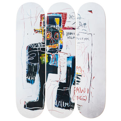 Jean-Michel Basquiat, 'Irony of a Negro Policeman', 1981