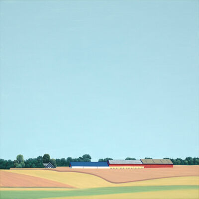 Jeroen Allart, 'Skane lane - landscape painting', 2017