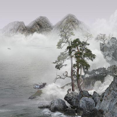 Yang Yongliang 杨泳梁, 'Monkey', 2021