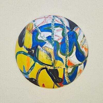 Reinaldo Sanguino, 'Ceramic Wall Bubble 2', 2017