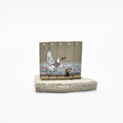 Banksy, 'Walled Off Hotel - Wall Sculpture (Dove)', 2018