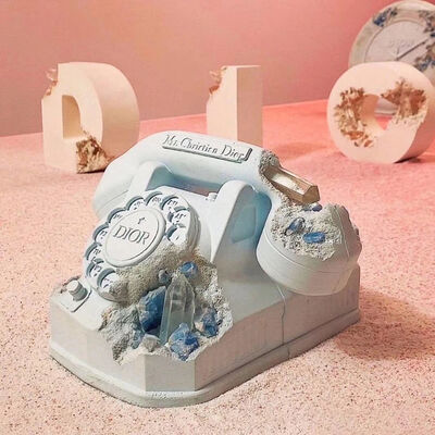 Daniel Arsham, 'Eroded Telephone', 2020