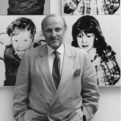 Jeannette Montgomery Barron, 'Bruno Bischofberger, Küsnacht, Switzerland', 1985