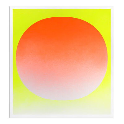 Rupprecht Geiger, 'Orange on Yellow', 1969