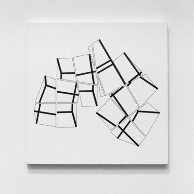Manfred Mohr, 'P-359-H', 1984-1985
