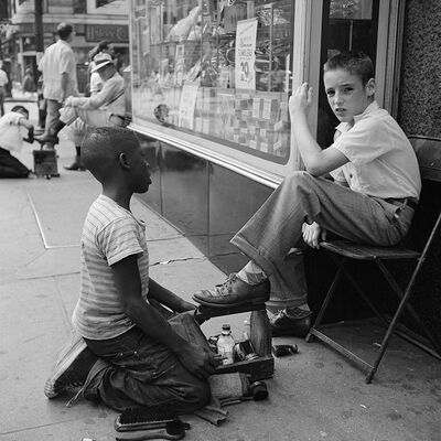 Vivian Maier, 'New York, NY', 1954