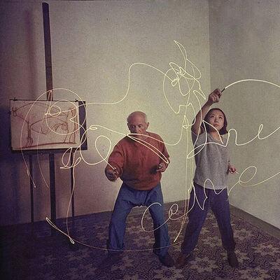 Silin Liu 刘思麟, 'Pablo Picasso & Celine Liu ', 2015