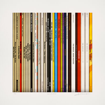 Keith Haynes, 'Spines # 4 - The Beatles'