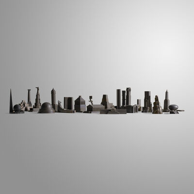 Constantin Boym, 'Missing Monument prototypes, collection of twenty', 1997-99