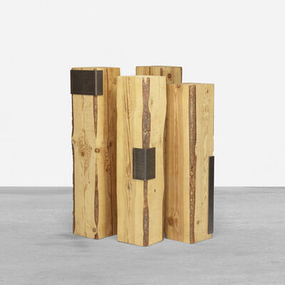 Elizabeth Garouste and Mattia Bonetti, 'pedestals, set of four', c. 2000