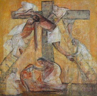 Esther Gonzalez, 'Descendimiento Bizantino', n/a
