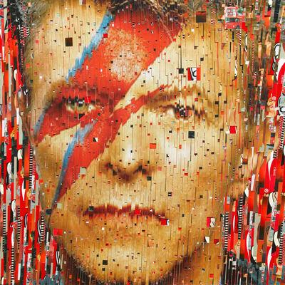 David Mach, 'David Bowie', 2013