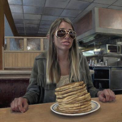 Rachel Moseley, 'IHOP Charlie Foxtrot', 2018
