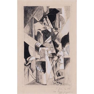 Albert Gleizes, 'La femme aux bêtes', 1913