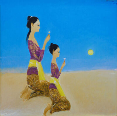 Srihadi Soedarsono, 'Mother and Daughter - Contemplation For Love and Peace', 2019