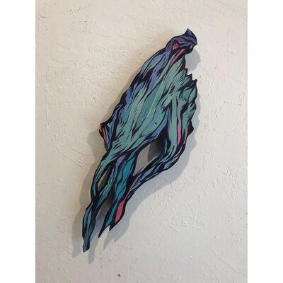 "Daniel ""Attaboy"" Seifert, 'Decomposing Hand of a Wraith (study for Shroom Corpse)', 2016-2019"