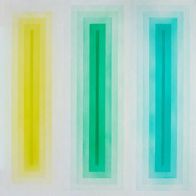 Marie Lannoo, 'SPECTRUM - GREEN', 2017