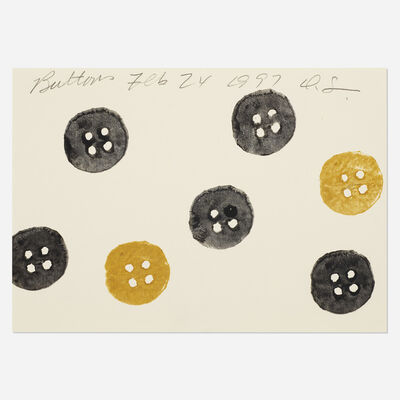 Donald Sultan, 'Buttons', 1997