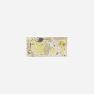 Lyonel Feininger, 'Untitled', 1953