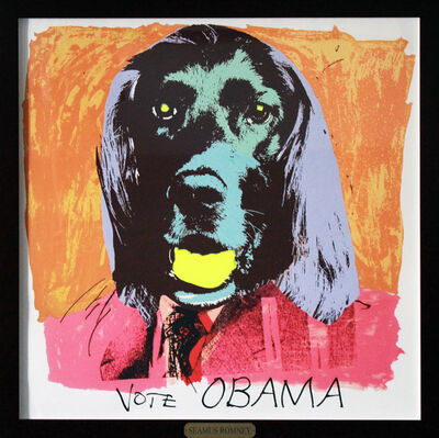 RJ Berman, 'Vote Obama', 2012