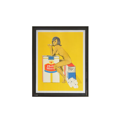 Mel Ramos, 'Tobacco Rhoda - Sally Duberson', 1965