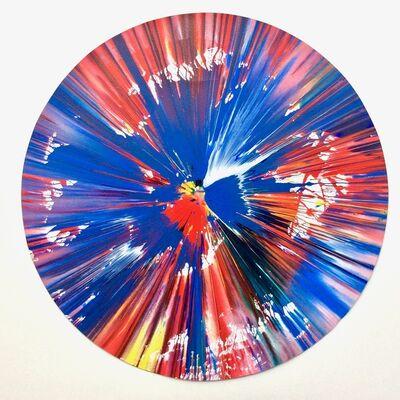 Damien Hirst, 'Circle (original spin painting)', 2009