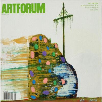 David Lloyd, 'Altered Artforum #5', 2016