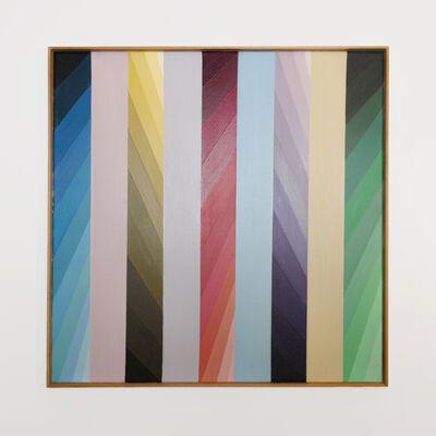 Anton Stankowski, 'Farbsäulen', 1989