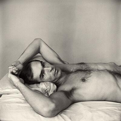 Peter Hujar, 'Self Portrait Lying Down', 1975