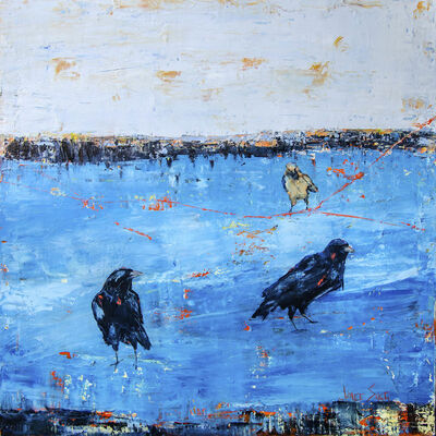 Janice Sugg, 'Crows in Blue', 2018