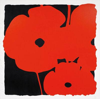 Donald Sultan, 'Big Poppies', 2014