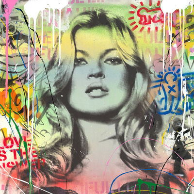 Mr. Brainwash, 'Kate Moss ', 2017