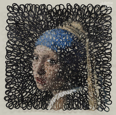 Ye Dongsheng, 'Vermeer: Girl with a pearl earring《戴珍珠耳环的少女》', 2019