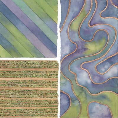 Elaine Bowers, 'Earth Quilt 4'
