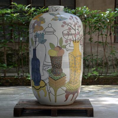 Felicity Aylieff, 'Monumental Vase; New Pots on Pots', 2016