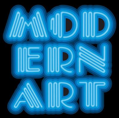 Ben Eine, 'Modern Art - Blue', 2015