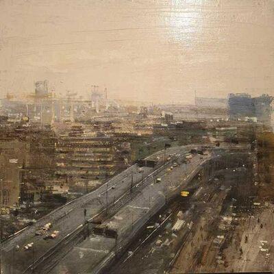 ALEJANDRO QUINCOCES, 'Autopista en Hang Zhou, día gris', 2018