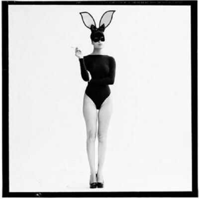 Tyler Shields, 'The Smoking Bunny', 2016