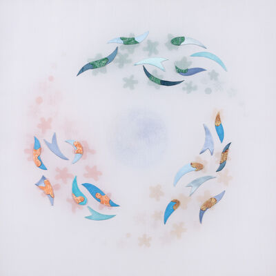 Leslie Nguyen Temple, 'Kinetic Mandala Abstract Series - Into Autumn 旋舞的曼陀羅 抽象作品系列 - 入秋', 2017-2018