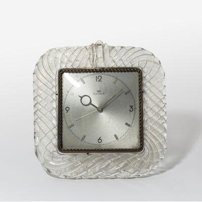 Venini, 'A table clock', circa 1935