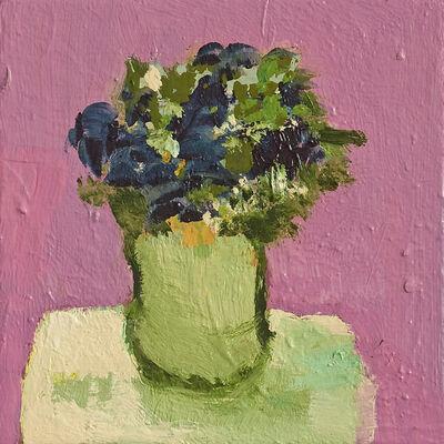 Jennifer Hornyak, 'Pale Green Pot With Pink Ground', 2014