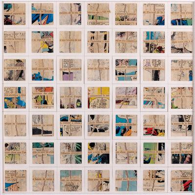 """Gil J. Wolman, 'Décomposition """"Négatif reparaît da""""', 1980"""