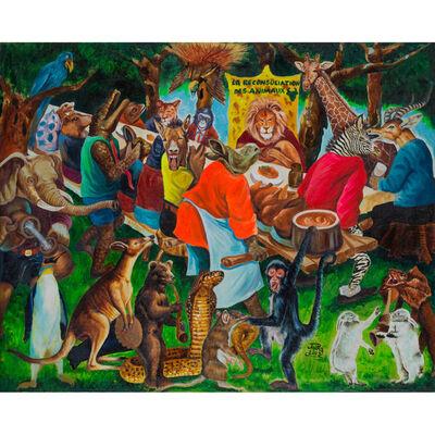JP Mika, 'La reconsuliation des animaux', 2009