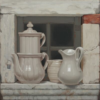 Paolo Quaresima, 'Coccio e pietra', 2017