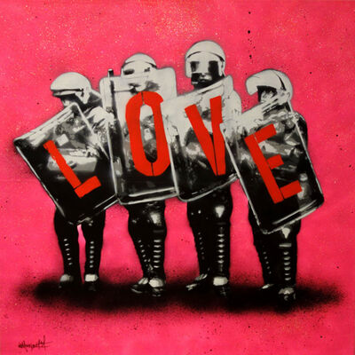 Martin Whatson, 'Love cops', 2014